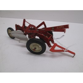 MCCORMICK 2 BOTTOM PLOW, RARE WHITE RIMS, NICE ORG